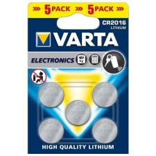 Varta Fotó és kalkulátorelem 3V 5db CR2016 Varta autójavító eszköz