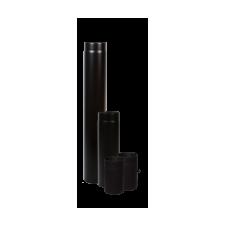 Vastag falú füstcső, huzatszabályozós 180/250 mm (13055) hűtés, fűtés szerelvény
