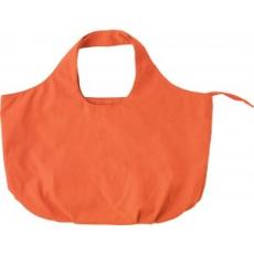 Vászon strandtáska, narancs