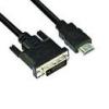 VCOM VCOM KÁBEL HDMI-DVI 3M (HDMI M--DVI24+1M 1080P)
