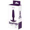 VeDO Bump - akkus, kúpos anál vibrátor (lila)