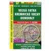 Veľká Fatra - Kremnické Vrchy - Donovaly / Nagy-Fátra turistatérkép/ Shocart