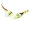 Ventilátor hosszabító kábel 30cm