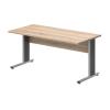 Vénusz irodabútor AVA fémlábas íróasztalok IS-80/80-AVA fémlábas asztal (80 x 80 cm-es kisméretű)