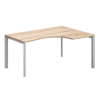 """Vénusz TREND fémlábas asztalok GB-180/120-J-TR L"""" alakú operatív íróasztal Trend fémlábbal jobbos kivitelben 180x x120 cm-es méretben"""