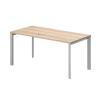 Vénusz TREND fémlábas asztalok IS-200/80-TR Sarkos íróasztal, Trend fémlábbal 200 x 80 cm-es kivitelben