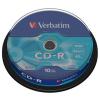 Verbatim CD-R 700 MB 52x Hengeres (10 db)