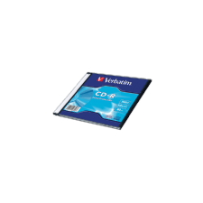 Verbatim CD-R lemez 700 MB 52x, vékony tok, DataLife írható és újraírható média