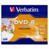 Verbatim DVD-R 4.7 GB 16x Normál Tok MATT Nyomtatható DVD Lemez