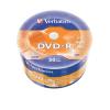 Verbatim DVD-R lemez, 4,7GB, 16x, zsugor csomaglás,