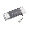 "Verbatim Pendrive, 32GB, USB 3.0, Lightning csatlakozó, VERBATIM ""Lightning"" grafit szürke"