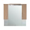 Vertex Bianca Plus 105 fürdőszoba bútor felsőszekrény, aida dió színben