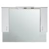 Vertex Bianca Plus 130 fürdőszoba bútor felsőszekrény, aida dió színben