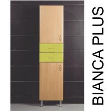 Vertex Bianca Plus 45 magas szekrény 2 ajtóval, 2 fiókkal, aida dió színben, jobbos bútor
