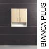 Vertex Bianca Plus 60-as Faliszekrény 2 ajtóval, nyitott alsó résszel, rauna szil színben