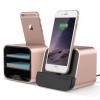 VERUS New i-Depot asztali dokkoló, hálózati töltő iPhone 5, 6, iOS kompatibilis, rose gold