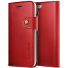 VERUS VRS Design (VERUS) iPhone 7 Native Diary oldalra nyíló tok, bordó