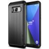 VERUS VRS Design (VERUS) Samsung Galaxy S8 Plus Hard Drop Waved hátlap, tok, sötét ezüst