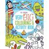 Very Big Colouring Activity Book - Nagy színező és foglalkoztató könyv