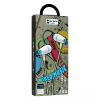 Vezetékes sztereó fülhallgató, 3.5 mm, P6, fehér/kék
