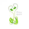 Vezetékes sztereó headset, HF SP80, mikrofonos, zöld