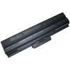 vgp-bps12a Akkumulátor 6600 mAh Fekete
