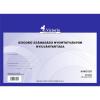 VICTORIA 25 lapos A4 szigorú számadású nyomtatványok nyilvántartása (10 db/csomag)