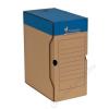 VICTORIA Archiváló doboz, A4, 150 mm, karton, VICTORIA, kék-fehér (IDVAD15)