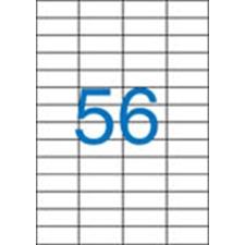 VICTORIA Etikett, univerzális, 52,5x21,2 mm, VICTORIA, 5600 etikett/csomag etikett