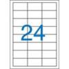 VICTORIA Etikett, univerzális, 64,6x33,8 mm, VICTORIA, 2400 etikett/csomag [100 lap]