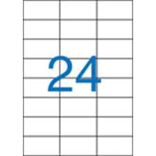 VICTORIA Etikett, univerzális, 70x37 mm, VICTORIA, 2400 etikett/csomag etikett