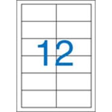 VICTORIA Etikett, univerzális, 97x42,4 mm, VICTORIA, 1200 etikett/csomag etikett