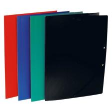 VICTORIA Gumis mappa, 15 mm, PP, A4, VICTORIA, piros mappa