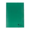 VICTORIA Gumis mappa, karton, A4, VICTORIA, zöld