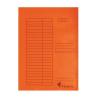 VICTORIA Gyorsfűző, karton, A4, VICTORIA, narancssárga