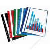 VICTORIA Gyorsfűző, lefűzhető, PP, A4, VICTORIA, piros (INV4130705)
