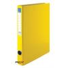 VICTORIA Gyûrûs könyv, 2 gyûrû, 35 mm, A4, PP/karton, VICTORIA, sárga