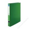 VICTORIA Gyűrűs dosszié, 4 gyűrű, 35 mm, A4, PP/karton, VICTORIA, zöld (IDVGY10)