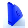 VICTORIA Iratpapucs, műanyag, 75 mm, VICTORIA, kék