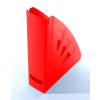VICTORIA Iratpapucs, műanyag, 75 mm, VICTORIA, piros