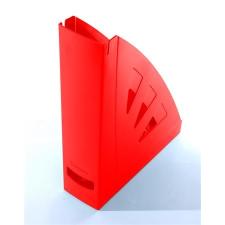 VICTORIA Iratpapucs, műanyag, 75 mm, VICTORIA, piros irattartó