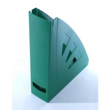 VICTORIA Iratpapucs, műanyag, 75 mm, VICTORIA, zöld irattartó