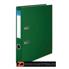 """VICTORIA Iratrendező, 50 mm, A4, PP/karton, élvédő sínnel, VICTORIA, """"Basic"""", zöld (IDI50Z) irattartó"""