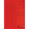 VICTORIA karton pólyás dosszié, piros