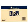 VICTORIA Öntapadó jegyzettömb, 75x125 mm, 100 lap, VICTORIA, sárga