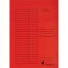 VICTORIA papír gyorsfűző, piros