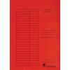 VICTORIA Pólyás dosszié, karton, A4, VICTORIA, piros