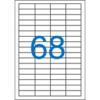 VICTORIA univerzális 48,5x16,9 mm Etikett