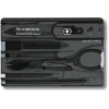 Victorinox SwissCard Black Transparent