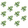 vidaXL 10 db zöld mű szőlőlevél 70 cm